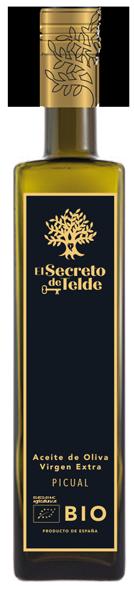 Aceite de oliva virgen extra ecológico El Secreto de Telde Picual